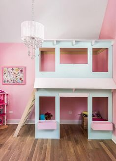 16 Ideas Home Office Pink Benjamin Moore Girl Room, Girls Bedroom, Baby Room, Bedrooms, Interior Paint Colors, Interior Design, Playhouse Interior, Popular Paint Colors, Farmhouse Kitchen Decor