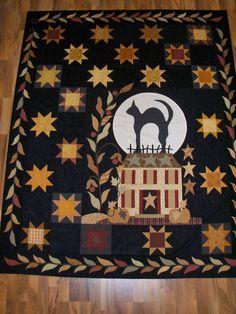 Midnight-Silhouette  pattern by Blackbird Designs.uploaded by pinner via Cindy Kay