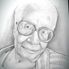 #oldwoman #grandma #portrait #art #sketch #pencildrawing #glasses #cute #wrinkled #memories #old  #anciana #abuela #vejez #arrugas #experiencia #recuerdos #retrato #arte #dibujo #lapiz #desconocidos Www.facebook.com/antonio.ayala.castejon.oficial