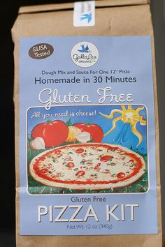 GF pizza kit for when Daddy is away