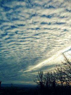 #lautrec #tarn un bien joli ciel cotonneux d'hiver