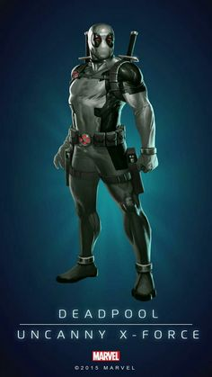 Uncanny X-Force Deadpool All Marvel Heroes, Marvel Games, Marvel Comics Art, Marvel Avengers, Poster Marvel, Marvel Comic Universe, Comics Universe, Deadpool, Marvel Comic Character