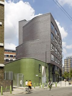 Mint Street Peabody Housing in London by Pitman Tozer Architects