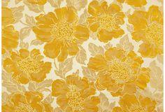 Floral Jacquard Silk
