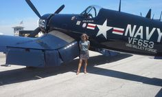 """Love airplanes, especially the vintage ones ! Corsair at """"Sun N Fun"""" Airplanes, Dawn, Fighter Jets, Monster Trucks, Aircraft, Meet, Vehicles, Vintage, Capri"""
