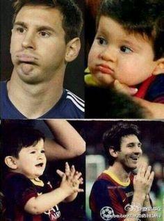 Thiago Messi|Va el niño más adorable del mundo