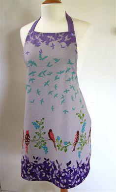 Echino birdsong fabric **Echino fabric can be bought on http://www.modes4u.com/en/kawaii/p8031_echino-canvas-fabric-Wish-purple-birds-flowers.html