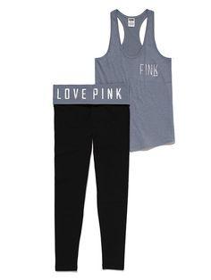 Victoria's Secret PINK Tank & Yoga Legging Gift Set #VictoriasSecret http://www.victoriassecret.com/pink/presents-please/tank-yoga-legging-gift-set-victorias-secret-pink?ProductID=82347=OLS?cm_mmc=pinterest-_-product-_-x-_-x