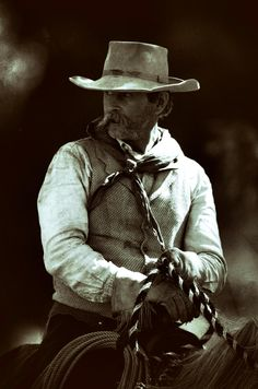 Cowboy Kim Anton of Longview. Will Brewster photo