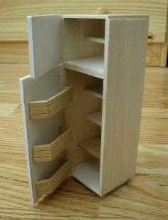 Tarja's Crafts: Dollhouse fridge