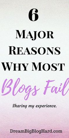 #mostblogsfail, #startablog,