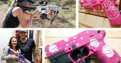 """The efforts to convince more women to buy guns appalled many in the feminist movement, including Betty Friedan, who called the effort to cast gun ownership as feminist a """"horrifying, obscene perversion of feminism"""" and helped create Women Against Gun Violence, in part to organize women, a majority of whom favor gun control, and to raise awareness about the increased risk of death for women who live in homes with guns, especially the victims of domestic violence. http://thecut.io/1nYO7uc"""