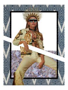 Collage no.15 x Hailey Baldwin #collage