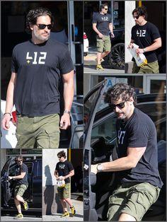 Joe Manganiello shopping in West Hollywood