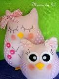 Almofada de coruja... #Cute