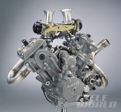 KTM LC8 engine