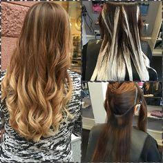 Balayage med #olaplex av Viktoria @scissorhandsbyviktoria #wellafreelights #balayage #matrix #color #haircolor #highlights
