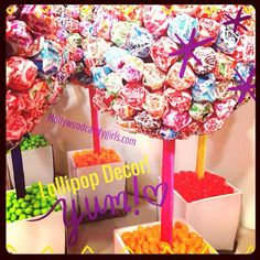 Candy Land Party.... Rainbow Dum Dum Gum Ball Candy Land by HollywoodCandyGirls on Etsy, $49.99