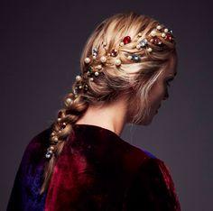 Trendy Hairstyles, Girl Hairstyles, Wedding Hairstyles, Hair Color And Cut, Hair Tools, Hair Day, Ombre Hair, Prom Hair, Bridal Hair
