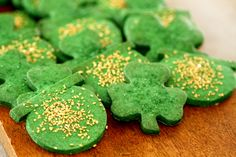 St. Patrick's Day Shortbread Cookies
