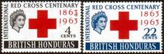 British Honduras 1963 Red Cross Centenary Fine Mint Other British Commonwealth Empire and Colonial stamps for sale Here