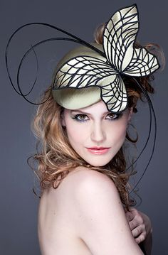 Guibert Millinery, Rock Me Rococo Collection.  - #Tocados y #sombreros en @BijouPrivee