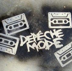 Depeche Mode Cassette Fan Art