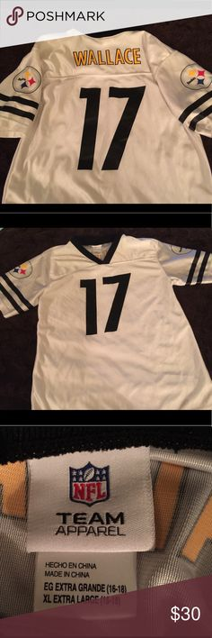 f621b6726 Shop Kids  NFL Black White size XLB Tees - Short Sleeve at a discounted  price at Poshmark. Description  Authentic NFL Jersey for the Pittsburgh  Steelers!