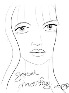 Doodles, Sketches, Female, Art, Drawings, Scribble, Sketch, Kunst, Donut Tower