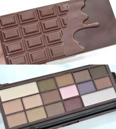 New Brand From Makeup Revolution - I ♡ Makeup  Near perfect dupe for TooFaced Chocolate  palette but £8 not £38! And the quality is just the same....
