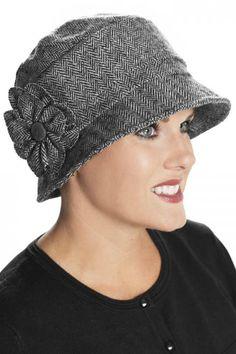 Bellini Cloche Hat - Winter Hat for Women, Cancer Hats, Chemo Hat Winter Headwear, French Hat, Hat Patterns To Sew, Bonnet Hat, Winter Hats For Women, Cute Hats, Girl With Hat, Women's Dresses, Women Hat