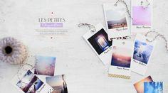 Etiquettes photos pour paquet cadeau