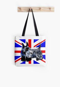Scottie Dog 'Union Jack' by archyscottie