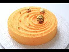 Муссовый апельсиновый торт, покрытый велюром / Mousse Orange Cake - YouTube