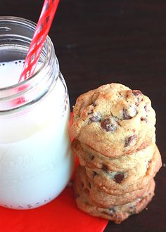 Chocolate Chip Cookies from Scratch - The Cooking Bride -these are probably the best cookies I've ever eaten/made!