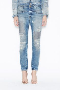 Closed Worker X Distressed Jeans