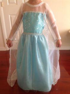 Frozen Elsa Dress Child's Size 7 by SnowCupcakes on Etsy, $100.00 Frozen Bday Party, Frozen Elsa Dress, 4th Birthday, Birthday Ideas, Dress Up, Bridesmaid Dresses, Tutu Dresses, Gowns, Disney Stuff