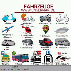 Embedded image German Language Learning, Language Study, Learn German, Learn English, German Resources, Medical Mnemonics, German Words, Learning Resources, Zeppelin