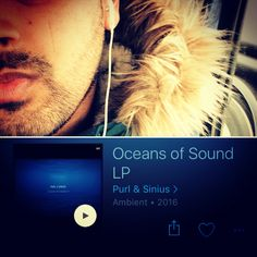 Listening to my new ambient album Oceans of Sound.