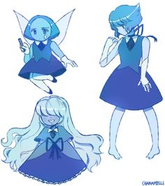 The cute blue gems💙 Winx Club, Cartoon N, Star Children, Universe Art, Fan Art, Star Vs The Forces Of Evil, Force Of Evil, Artwork, Geek Stuff