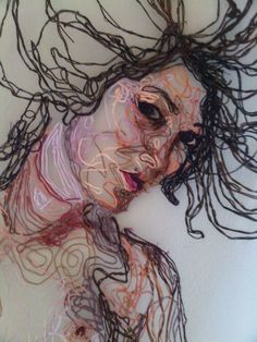 Louise Riley: embroidery art