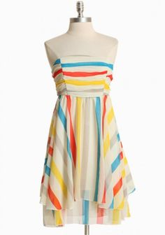 Fun summer party dress