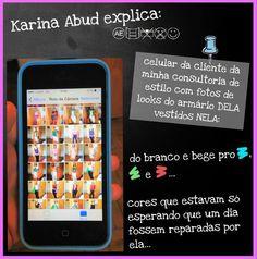 Quero mostrar pra vocês parte do resultado da última etapa da minha consultoria de estilo pessoal em uma cliente super especial :)  (e pra conhecer todas as etapas de forma beeeeeeeeem didática espia aqui: http://prezi.com/hkgzih5b5con/karina-abud-explica/?utm_campaign=share&utm_medium=copy)  Karina Abud Consultoria de Estilo www.karinaabud.com
