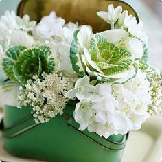Nice green and white mix.