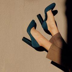 Apr 2020 - High Heels Summer Women Sheos royal blue chunky heels dark purple heel – robobco Dr Shoes, Crazy Shoes, Sock Shoes, Me Too Shoes, Shoe Boots, Pretty Shoes, Beautiful Shoes, Cute Shoes, Lila Heels
