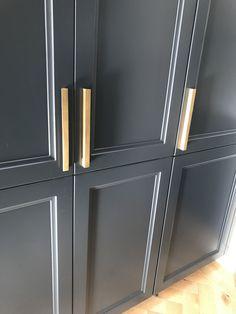 @thefoundryman Door Pulls, Knobs And Pulls, Kitchen Hardware, French Door Refrigerator, Kitchen Appliances, Brass, Cooking Ware, Home Appliances, Copper