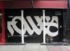 FAUST  handstyle mural