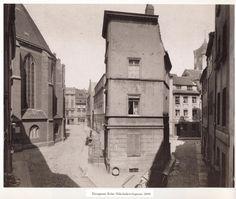 Eiergasse ecke Nikolaikirchgasse.. 1888