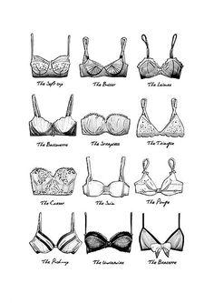 bra names