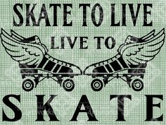 Digital Download Roller Derby, digi stamp, digis, digital graphic, Antique Illustration, Roller Skating, Roller Skates on Etsy, $2.49